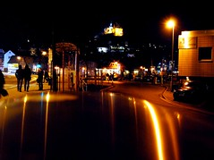 Night life (Tobi_2008) Tags: city germany deutschland lights town hessen view nightshot stadt allemagne marburg germania lichter ansicht nachaufnahme diamondclassphotographer flickrdiamond