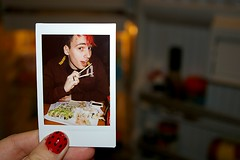 Sushi! (weird klown) Tags: white cute fun awesome mini instant instax instandfilm fujiminiinstax