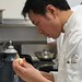 Chef Duncan Ly of Calgary concentrating during the Black Box competition
