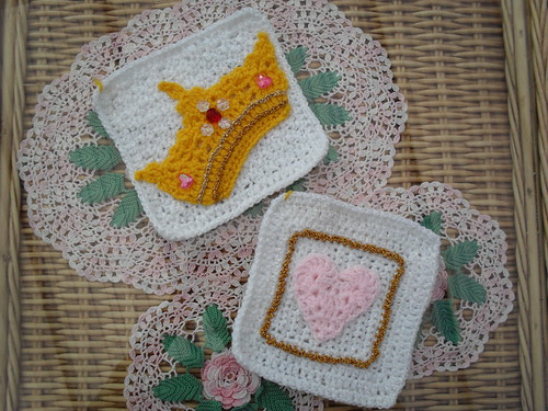 crochet3love (UK) Your 'Royal Squares' arrived today! Thank You!