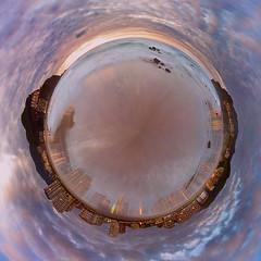 Focus on Planet (saki_axat) Tags: sea beach mar playa planet bakio 360º littleplanet focusonplanet