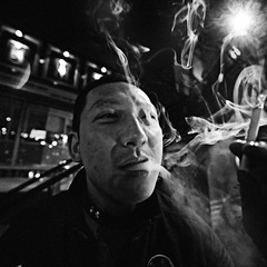 Smoke (Jonathan Kos-Read) Tags: china portrait asia chinesecinema asiancinema chinesefilm asianfilm asianeyes chinesetv asiantv chineseeyes asianshowbusiness chineseshowbusiness