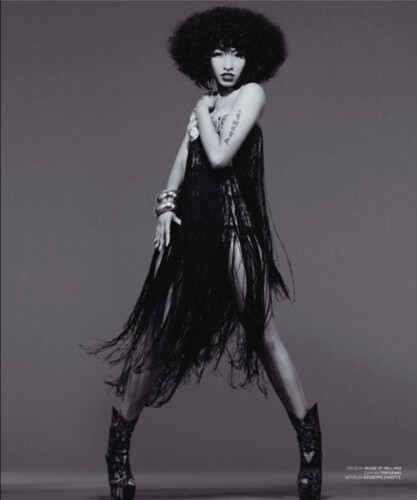 Nicki Minaj BlackBook Magazine pictures