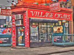 Village Cigars in the Village (SJColgan) Tags: nyc newyork hdr greenwichvillage villagecigars