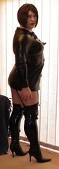 PVC&Thigh_Feb_2011_3 (karrenuk) Tags: uk sexy stockings panties tv tights tranny heels flashing crossdresser pvc shemale