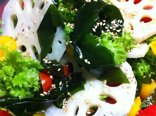 Fresh Wakame & Renkon Salad