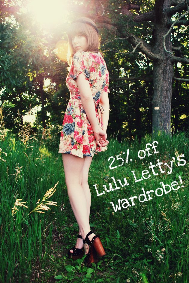 25% off Lulu Letty's Wardrobe!