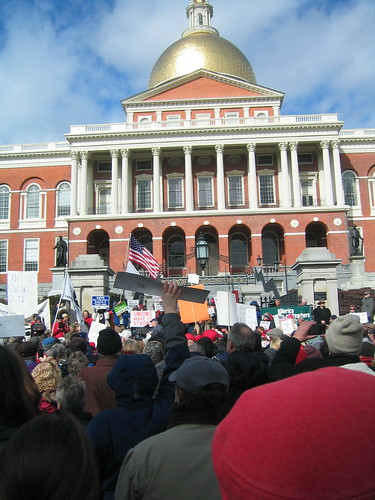 Rally pictures from Boston, credits to Alison Safford