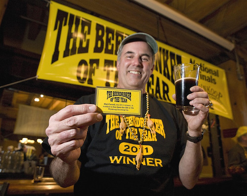 Phil Farrell, 2011 Beerdrinker of the Year
