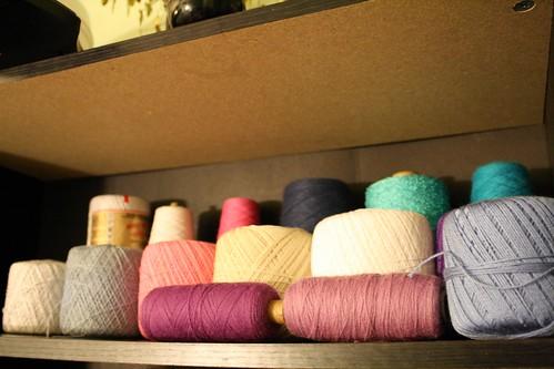 Organized yarn