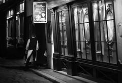 Le Procope, Paris France (mafate69) Tags: street urban bw paris france night restaurant europe eu nb rue nuit ue urbanlandscape urbain procope paysageurbain mafate69
