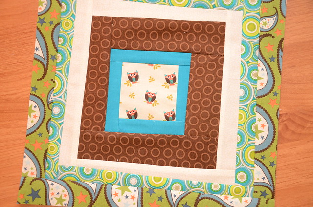 Scrap- bee Block Feb