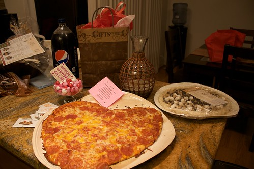 Valentine's Pizza Dinner