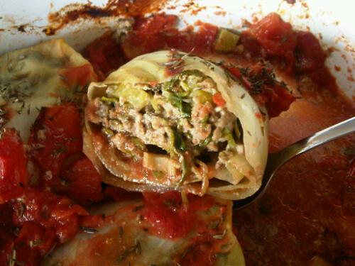 Cabbage rolls 1