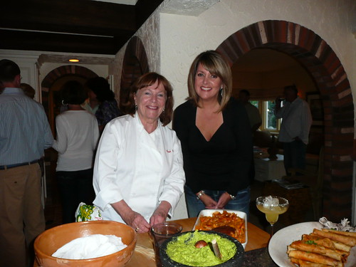 Nadine Woodward and myself at fundraiser