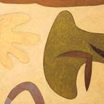 "<b>Sweet Briar Series 4</b><br/> Paula Berg Owen (LC '70) (acrylic on panel, 2010)<a href=""http://farm6.static.flickr.com/5056/5492389471_9bf28ded3b_o.jpg"" title=""High res"">∝</a>"