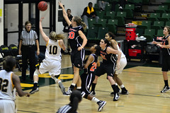 Women's Basketball by Emily Bogden