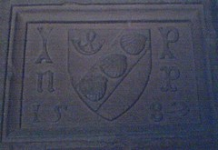 Pringle Coat of Arms at Buckholm Tower, Galashiels