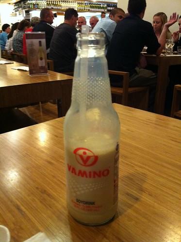 soy milk drink