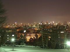 天神山からの夜景