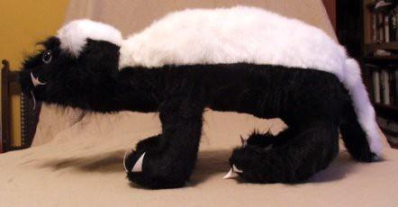 Honey Badger, side angle