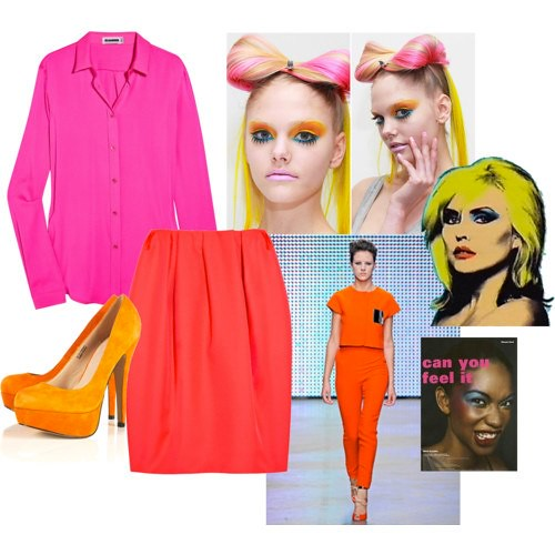 BLOCK COLOURS POLYVORE