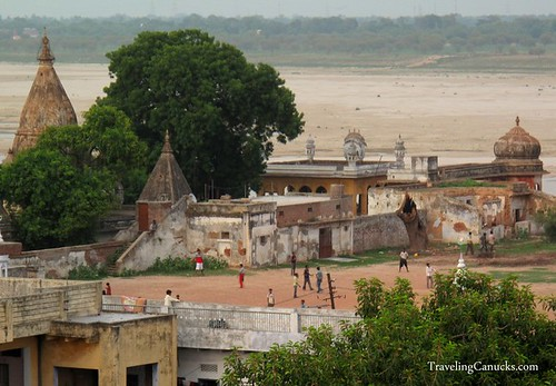 Cricket Match on the Ganges in Varanasi