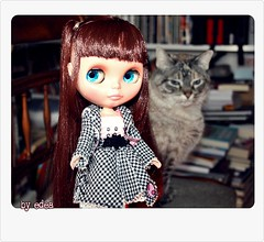 Wilhelmina y Luna.