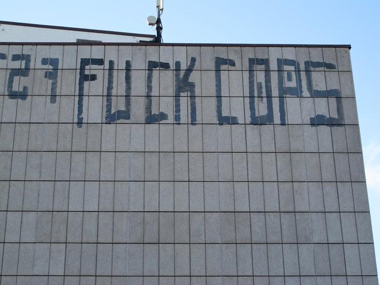 F*ck cops