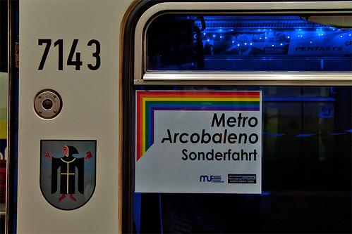 Sonderfahrt-Schild am Wagen 7143