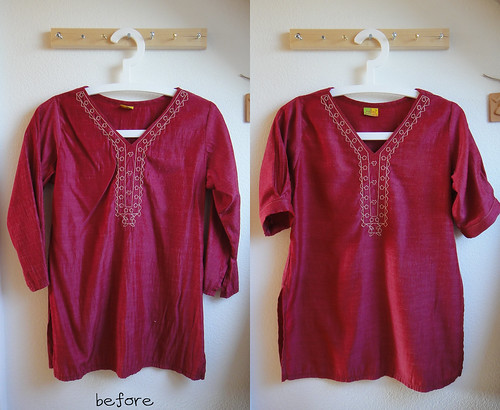 07.Mar.11 Pakistani tunic makeover