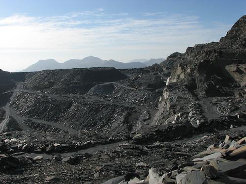 Manod slate quarry