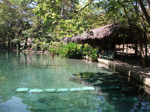 Swim in the freshwater springs of La Presa Ojo de Agua