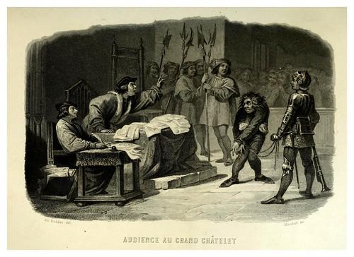 023-Audiencia de Quasimodo en el GranChâtelet.-Notre-Dame de Paris 1844- edicion Perrotin Garnier Frères