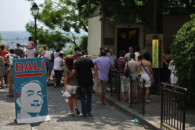 L'espace Dali à Montmartre