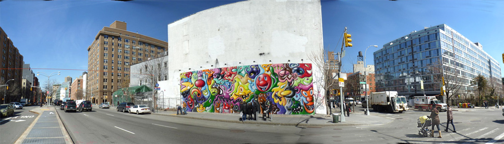Bowery Houston Mural