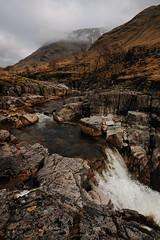 Rocky River. (stonefaction) Tags: mountain river scotland highlands glen nah loch moor mor buachaille etive lochan rannoch tulla urr achlaise coupall