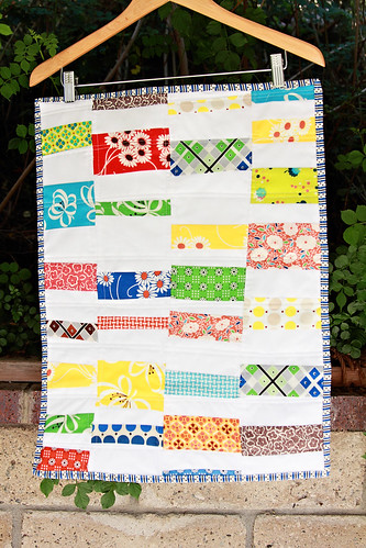 Wonky Strips quilt
