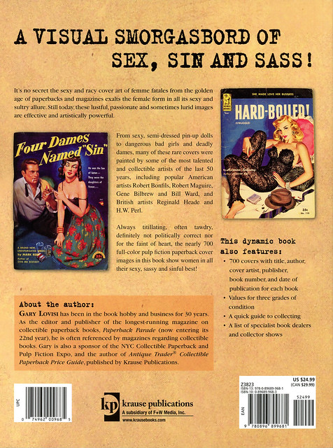 Krause Books - Gary Lovisi - Dames Dolls amp Delinquents (back) by swallace99