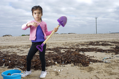 Paola Digs on Bolivar Peninsula by killy