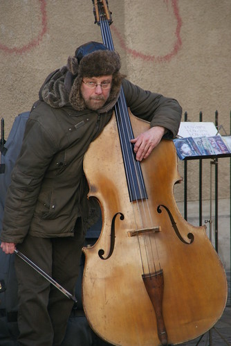It IS hard out there for a cellist. (Photo: fatseth, flickr)