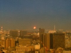 Explosion in Japan (/\ltus) Tags: japan tokyo earthquake chiba refinery explode iphone