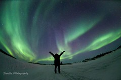 Let There Be Light (savillent) Tags: winter sky snow canada cold night stars landscape lights solar nikon northwest space astrophotography aurora northern territories borealis phenomenon geomagnetic tuktoyaktuk