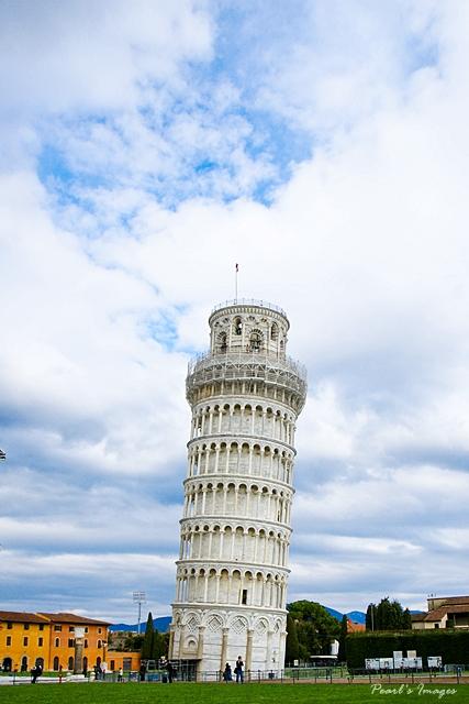 歪歪斜斜的世界遺產(笑)-比薩斜塔
