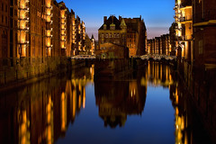 Blue hour at Poggenmhlenbrcke (Axel_Hahn) Tags: old light urban reflection building brick water beautiful architecture modern port sunrise germany harbor pier canal dock downtown european cityscape waterfront view nightshot hamburg illumination dramatic landmark center storage warehouse area block bluehour dynamicrange freeport hafen trade fishmarket hdr speicherstadt elbe speicher waterway hafencity habour hansestadt relections langzeitbelichtung autofocus hanseatic clinker blauestunde wow5 fleetschlsschen abigfave wandrahmsfleet poggenmhlenbrcke windenwrterhuschen overtheexcellence worldwidelandscapes panoramafotogrfico flickrsportal ringexcellence dblringexcellence tplringexcellence flickrstruereflection1 flickrstruereflection2 flickrstruereflection3 flickrstruereflection4 flickrstruereflection5 flickrstruereflection6 flickrstruereflection7 magicmomentsinyourlife axelhahn hamburgoalemania