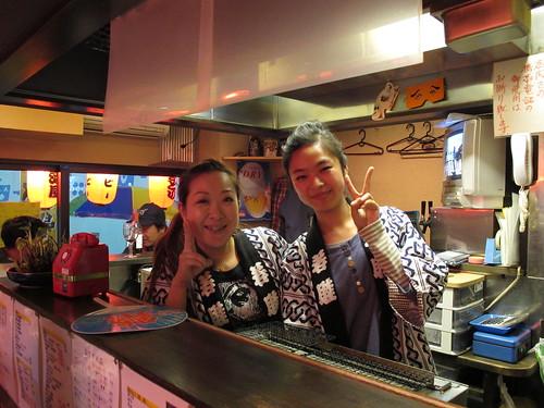 Yakitori Ladies at My Favorite Shack