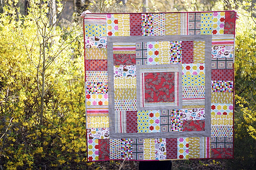 Brick House Baby Quilt