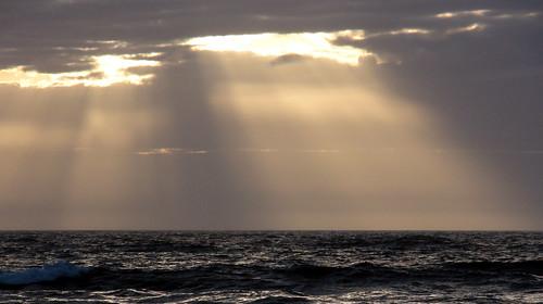 Sunrise Through the Clouds in Avalon NJ 3/5/2011 #2
