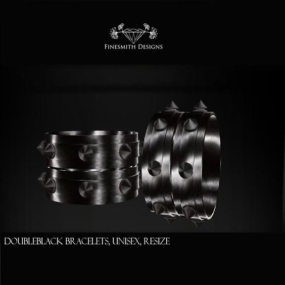 DoubleBlack Bracelets