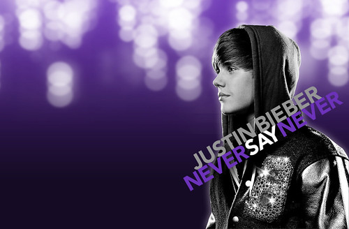 justin bieber 2011 wallpaper. justin bieber never say never